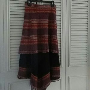Beautiful boho chic skirt